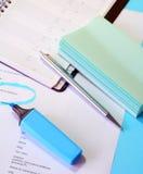 Dokumente auf Schreibtisch Lizenzfreie Stockfotografie