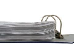 Dokumenten-Papier Lizenzfreie Stockbilder