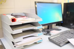 Dokumentenbehälter Stockfotografie