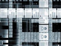 Dokumentverarbeitung Lizenzfreies Stockfoto