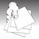 dokumenty royalty ilustracja