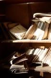 Dokumenty w szpitalu w Pripyat zdjęcia stock