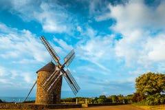 Dol de Bretagne windmill Brittany France Stock Photography