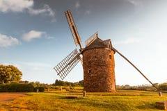 Dol de Bretagne windmill Brittany France Stock Photos