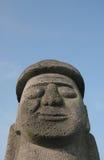 Dol Hareubang Statue lizenzfreie stockfotos
