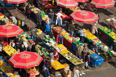 Dolac market, ZAGREB, CROATIA Royalty Free Stock Photos