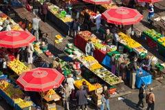 Dolac market, ZAGREB, CROATIA Stock Images
