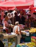 Dolac marknad Fotografering för Bildbyråer