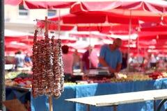 Dolac rynek, Zagreb, Chorwacja zdjęcia stock