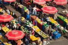 Dolac rynek, ZAGREB, CHORWACJA zdjęcia royalty free