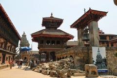 Dolakha Bhimsen tempel i Bhaktapur, Nepal royaltyfri fotografi