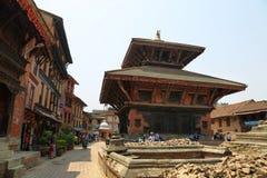 Dolakha Bhimsen Temple in Bhaktapur, Nepal Royalty Free Stock Images