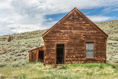 Dolan House in Bodie Ghost Town Royalty Free Stock Image