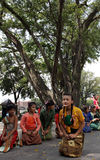 Dolanan child Festival Royalty Free Stock Photos