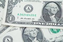 dolarów amerykańskich banknoty Fotografia Royalty Free