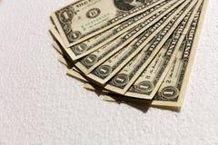 Dolarów amerykańskich rachunki Fotografia Royalty Free