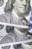100 dolarów paczka obrazy stock