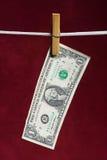 dolar amerykański jeden Obraz Stock