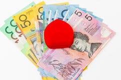 dolar australijski Obraz Royalty Free