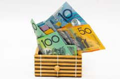 dolar australijski Fotografia Stock
