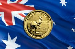 Dolar Australijski gospodarka dla biznesowej i pieniężnej pojęcie pomysłów ilustracji, tło Pojęcie z pieniądze dolarem australijs zdjęcie stock
