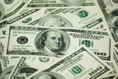 dolar banknotów, zdjęcie stock