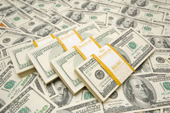 dolar broguje dziesięć tysięcy zdjęcia royalty free