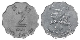 dolar Hong kong Zdjęcie Stock