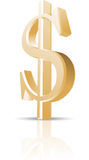 Dolar  illustration Royalty Free Stock Photography