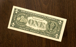 dolar jeden Obrazy Stock