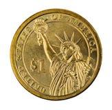 dolar jeden Fotografia Stock
