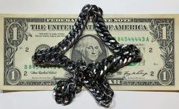 Dolar jest jeden Obraz Royalty Free