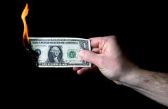 Dolar palić Fotografia Stock