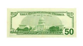 dolar pięćdziesiąt Zdjęcia Stock