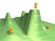 dolar rising Zdjęcia Stock