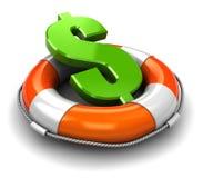 dolar save Zdjęcie Stock