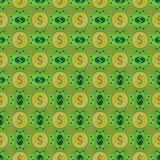 Dolar. seamless pattern. Simple fashion symbol for web site design or a button for mobile applications. Logo Illustrations Royalty Free Stock Photography