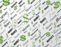 dolar tapeta Zdjęcia Stock