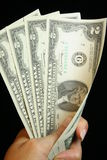 dolar z dwóch Zdjęcie Royalty Free