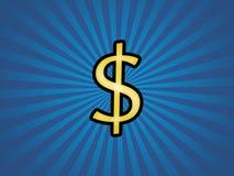 dolar za ostry Obrazy Stock