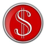 dolar znak Zdjęcie Stock