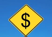 dolar znak Obrazy Royalty Free