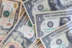 Dolara amerykańskiego pieniądze Fotografia Royalty Free