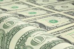 dolara amerykańskiego prześcieradło Obraz Royalty Free