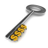 Dolara klucz Fotografia Stock