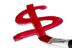 Dolara znak Zdjęcie Stock