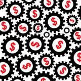 dolarowa gospodarka royalty ilustracja