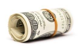 Dolarowa rolka Zdjęcie Stock