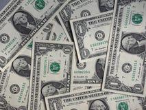 Dolarowe notatki, Stany Zjednoczone zdjęcie royalty free