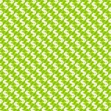 Dolarowego znaka abstrakcjonistyczny bezszwowy deseniowy tło Zdjęcie Royalty Free